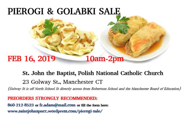 Pierogi&Golabki Sale poster